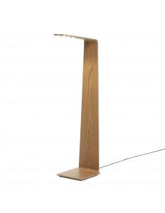 Lampadaire tactile en bois Led 2 au design scandinave et minimaliste