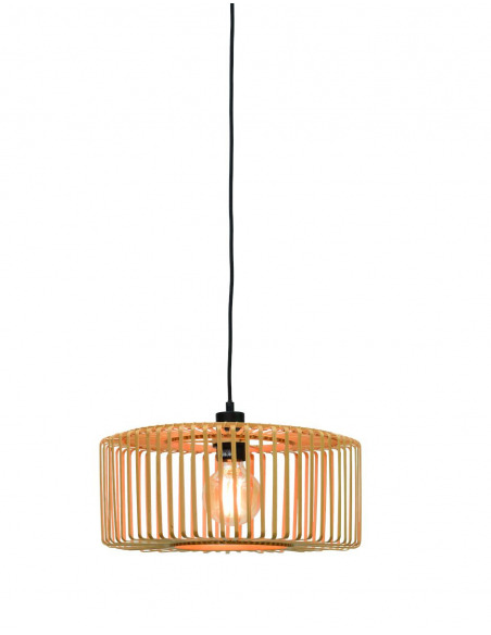 Suspension Bromo 2 en Bambou naturel au design naturel par Good & Mojo
