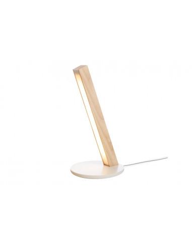 Lampe à poser tactile en bois Led 400 au design scandinave et minimaliste