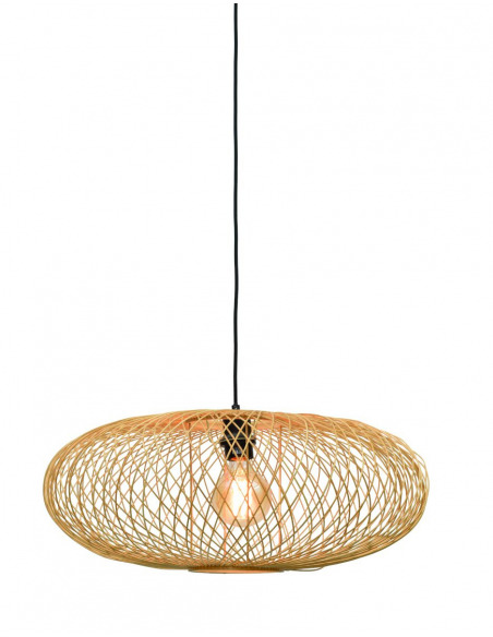 Suspension Cango en Bambou naturel au design naturel par Good & Mojo