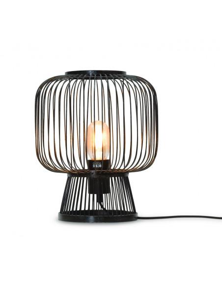 Lampe a poser Cango en Bambou naturel au design naturel par Good & Mojo