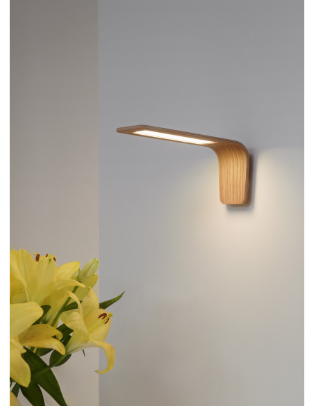 Applique murale en bois Led Butterfly 1 au design scandinave et minimaliste