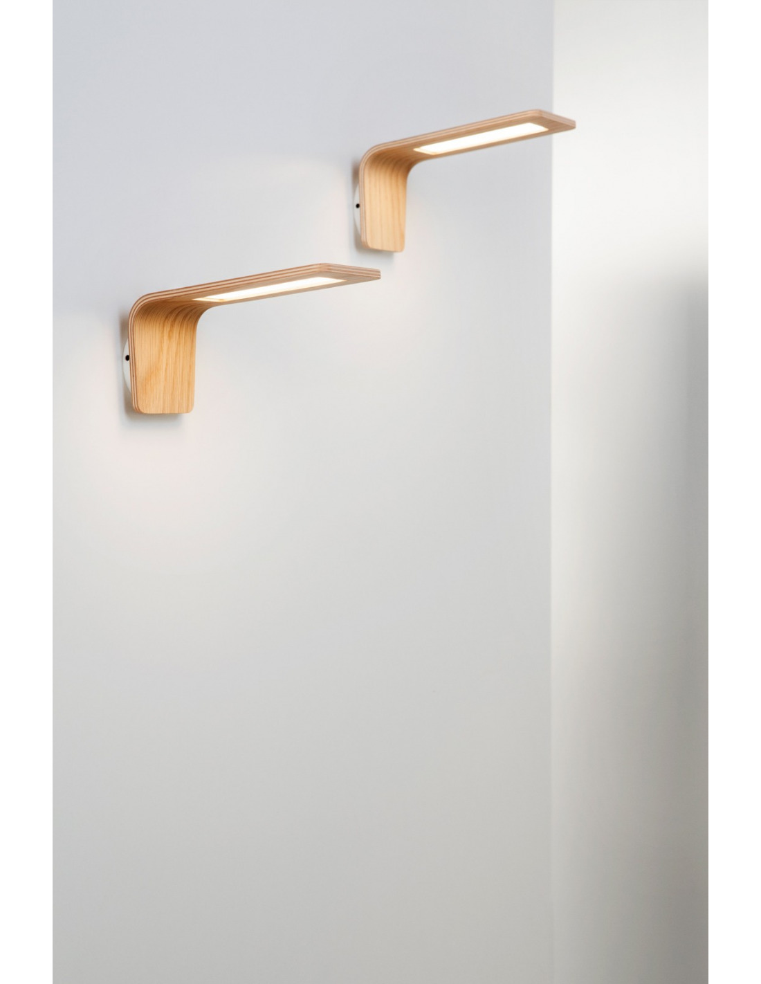 Applique Murale Bois Design : Applique murale en bois Led Butterfly 1 au design scandinave et