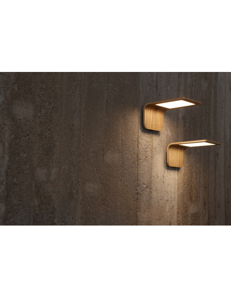 Applique murale en bois Led Butterfly 3 au design scandinave et minimaliste