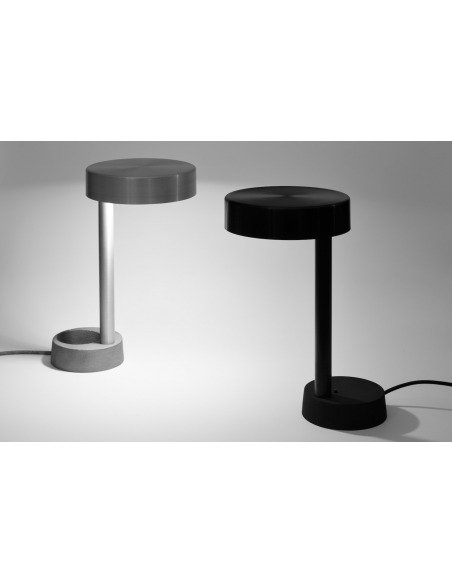 Lampe à poser Light noir au design contemporain