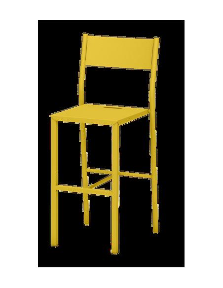 Chaise haute Take en acier par Luc Jozancy x Matière grise