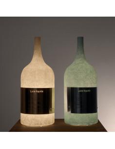 Lampe à poser Luce liquida 1 au design original et moderne en Nebulite
