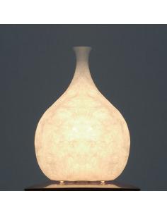 Lampe à poser Luce liquida 2 au design original et moderne en Nebulite