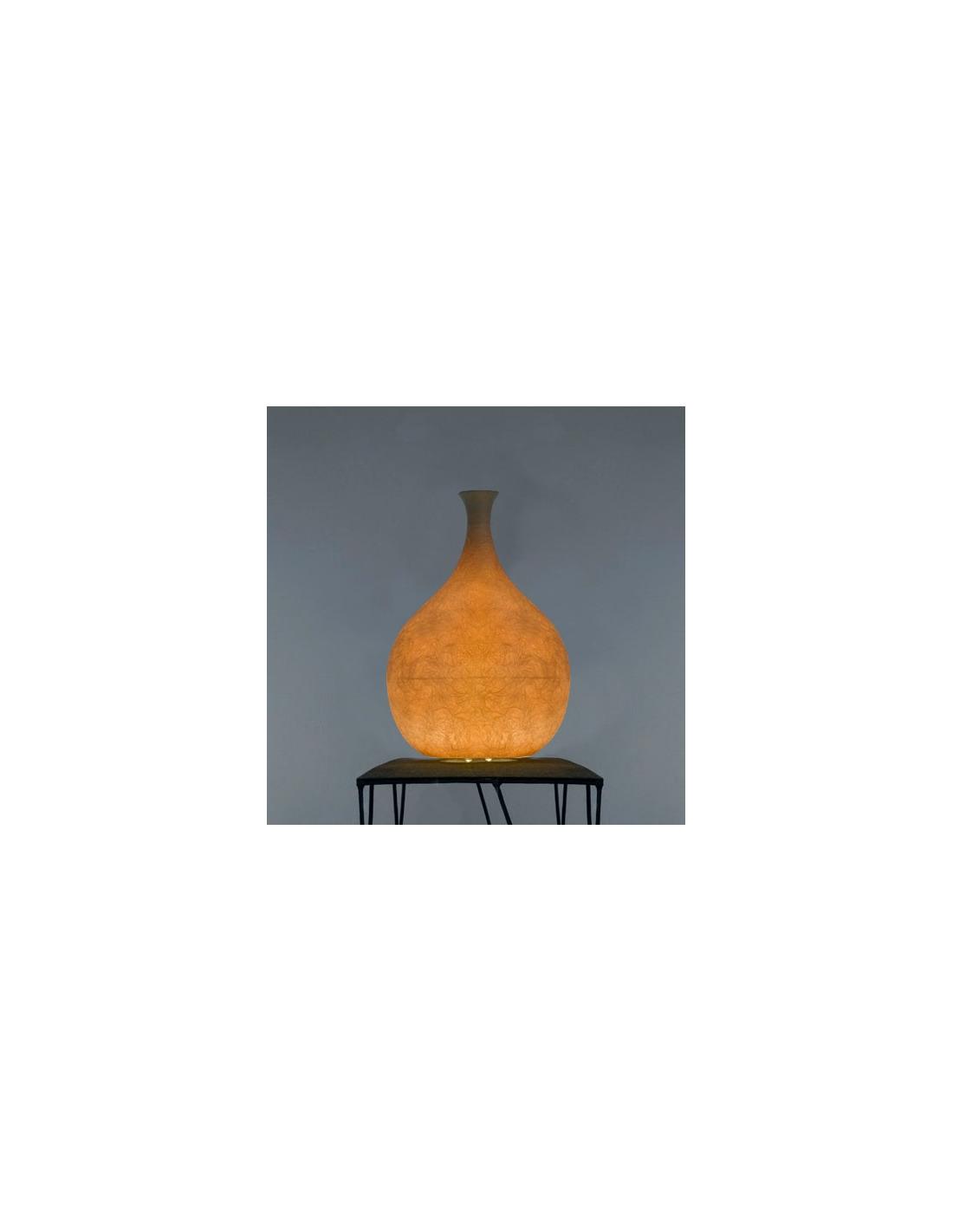 Lampe poser luce liquida 2 au design original et moderne for Lampe moderne a poser