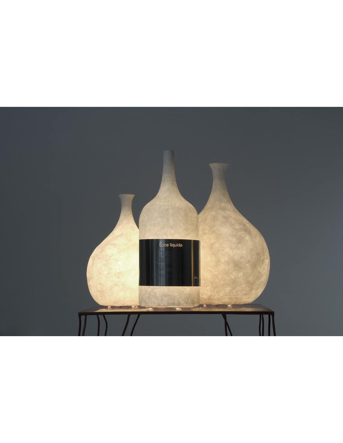 Lampe poser luce liquida 2 au design original et moderne - Set de table originaux ...
