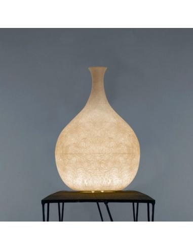 Lampe à poser Luce liquida 3 au design original et moderne en Nebulite