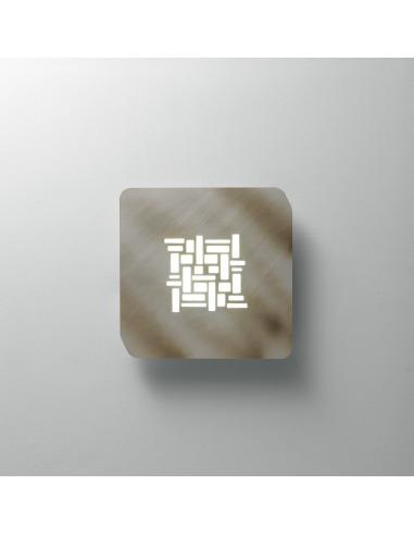 Plafonnier/Applique Pixel carré en...
