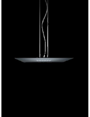 Suspension SPOKE Q carré aluminium 4...