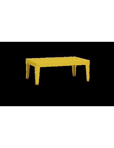 Table basse rectangulaire Zef par Luc Jozancy x Matière grise