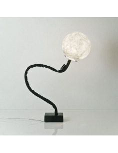 Lampadaire lune Micro luna piantana au design original et moderne