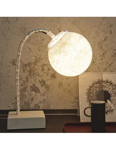 Lampe à poser lune Micro T luna au design original et moderne