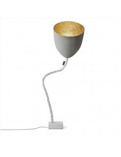 Lampadaire Flower cemento avec effet béton au design moderne