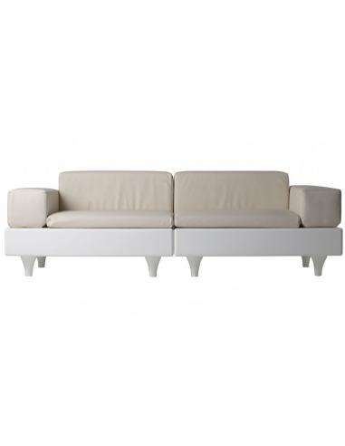 Canapé de jardin modulable Happylife...