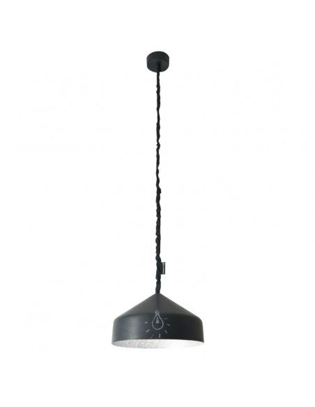 Suspension contemporaine Cyrcus lavagna avec effet tableau noir personnalisable