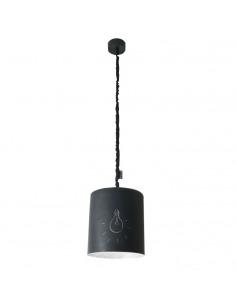 Suspension Bin lavagna avec effet tableau noir personnalisable