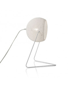 Lampe à poser Trama 1 en laine au design moderne et original