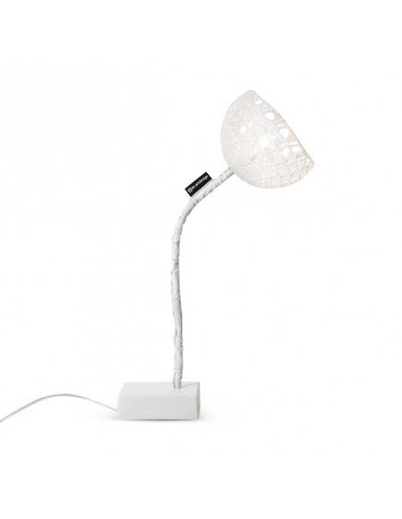 Lampe à poser Trama 2 en laine au design moderne et original