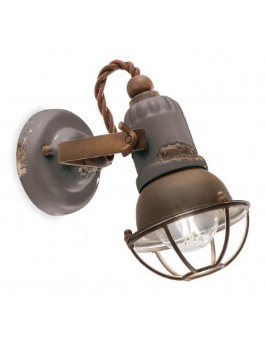 Applique Loft en céramique et métal...