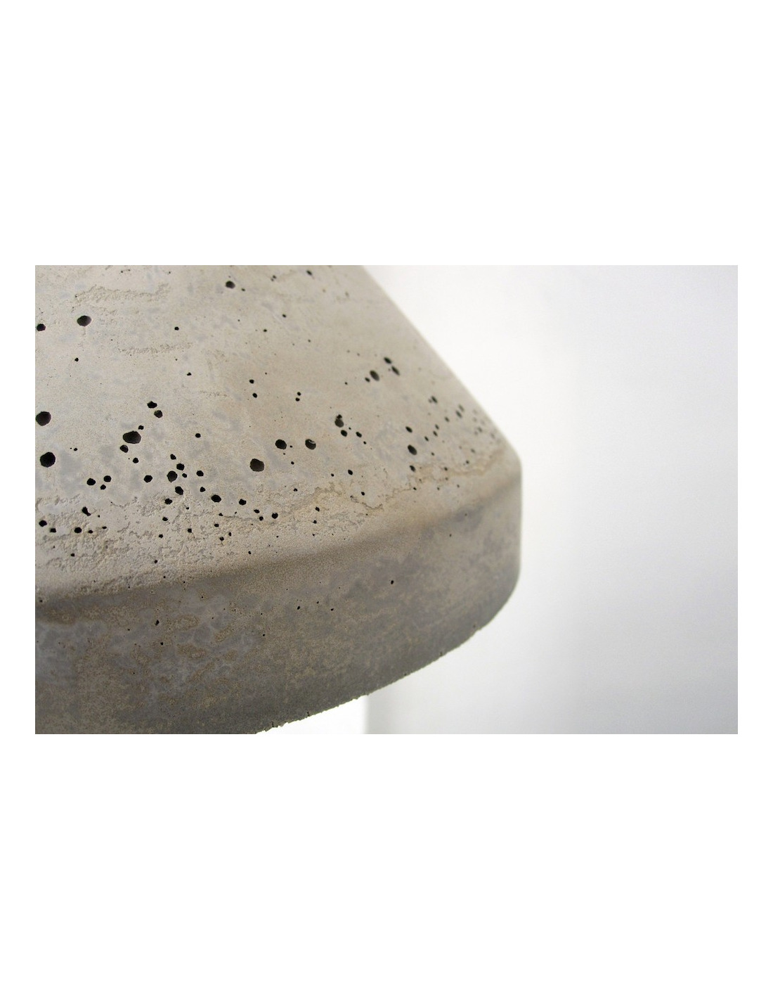 suspension en b ton et bois design concrete lamp otoko. Black Bedroom Furniture Sets. Home Design Ideas