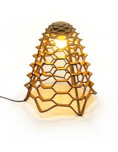 Lampe à poser écologique en liège Gaea Lamp par Tiago Sá da Costa