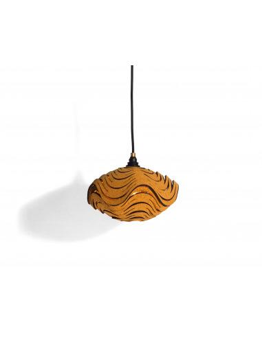 Suspension écologique en liège Casuluz Lamp par Tiago Sá da Costa