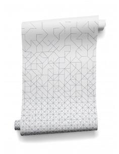 Papier peint au design géométrique intissé Modular  prêt-à-poser