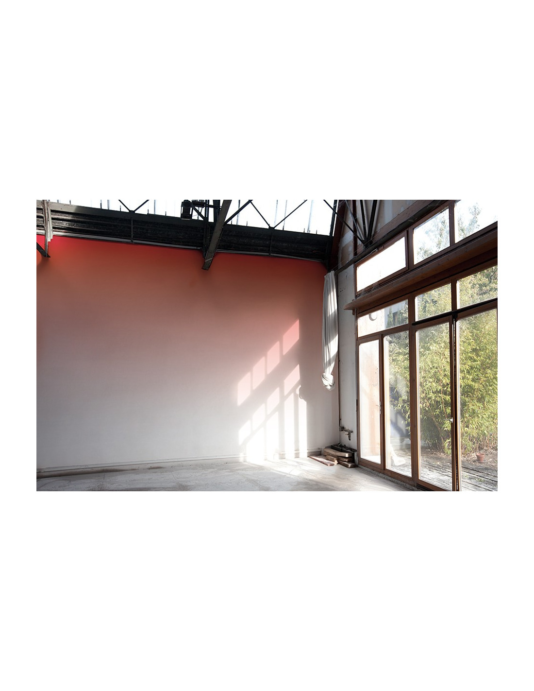 papier peint design intiss sunset grenadine pr t poser by a a cooren otoko. Black Bedroom Furniture Sets. Home Design Ideas
