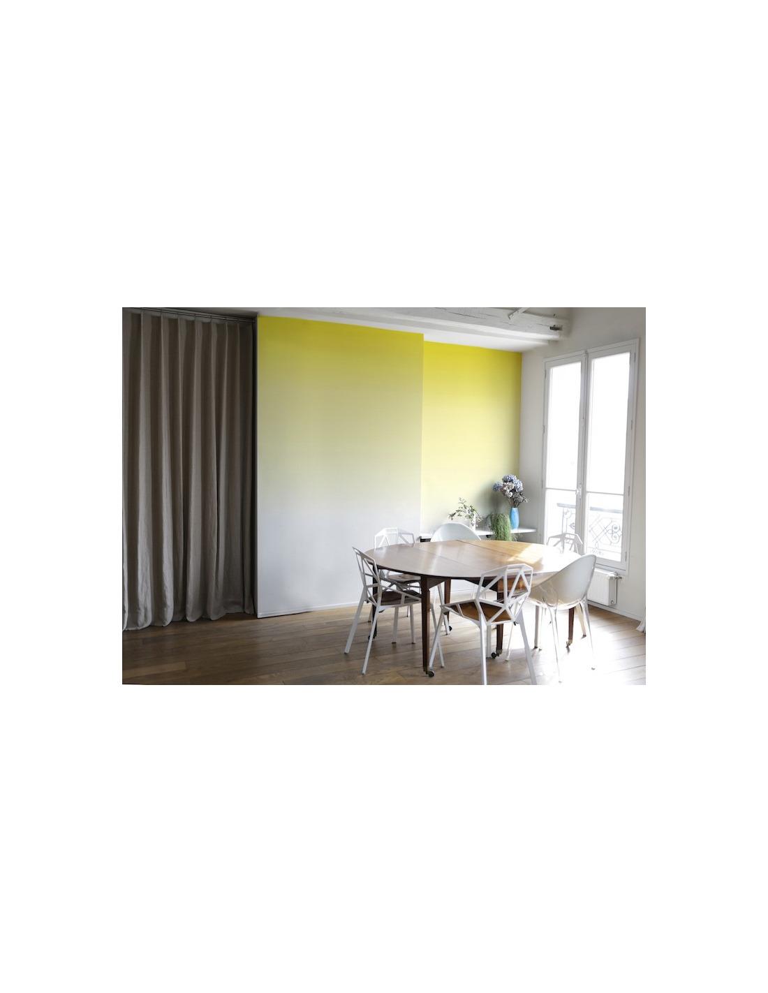 papier peint design intiss sunset citron pr t poser by a a cooren otoko. Black Bedroom Furniture Sets. Home Design Ideas