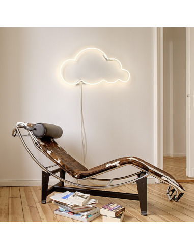 Applique Néon design Cloud 9 nuage par Lilly Ingenhoven