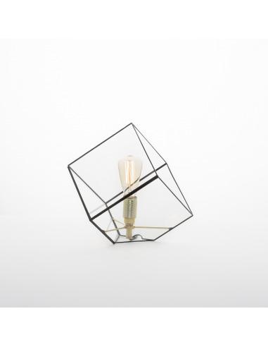 Lampe à poser géométrique Liv au design minimaliste et vintage