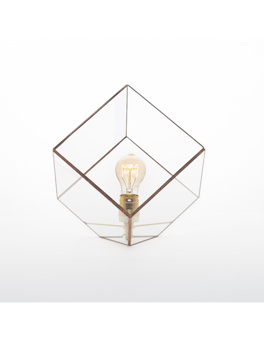 lampe poser g om trique grande liv au design minimaliste et vintage otoko. Black Bedroom Furniture Sets. Home Design Ideas