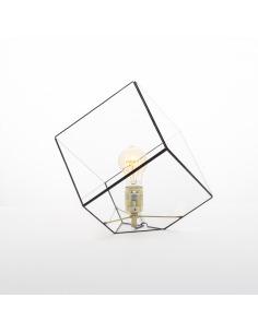 Lampe à poser géométrique grande Liv au design minimaliste et vintage