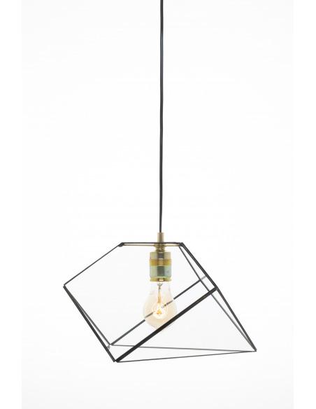 Suspension géométrique grande Mae au design minimaliste et vintage