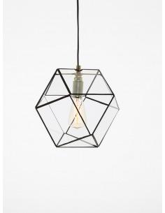 Suspension géométrique Yaz au design minimaliste et vintage
