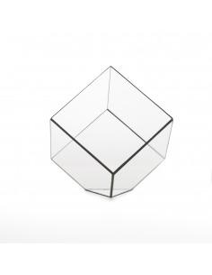 Cube de décoration géométrique Cube au design minimaliste et vintage