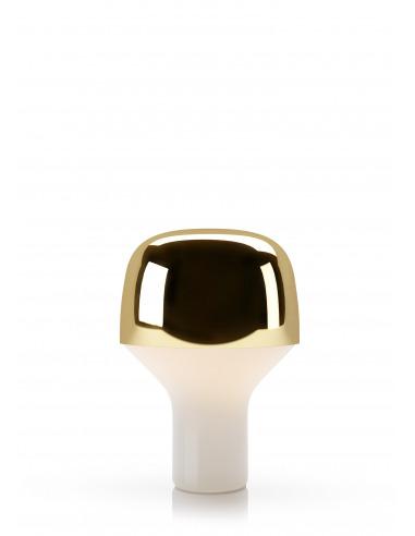 Lampe à poser CAP en verre soufflé et métal laqué