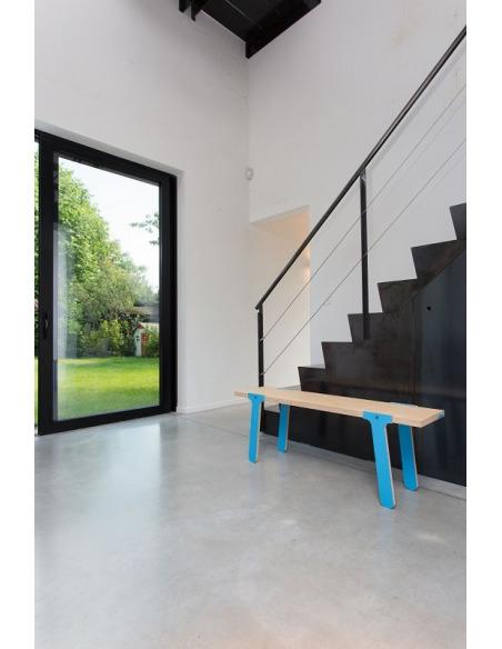 Banc d'intérieur contemporain Switch bench 07 en bois