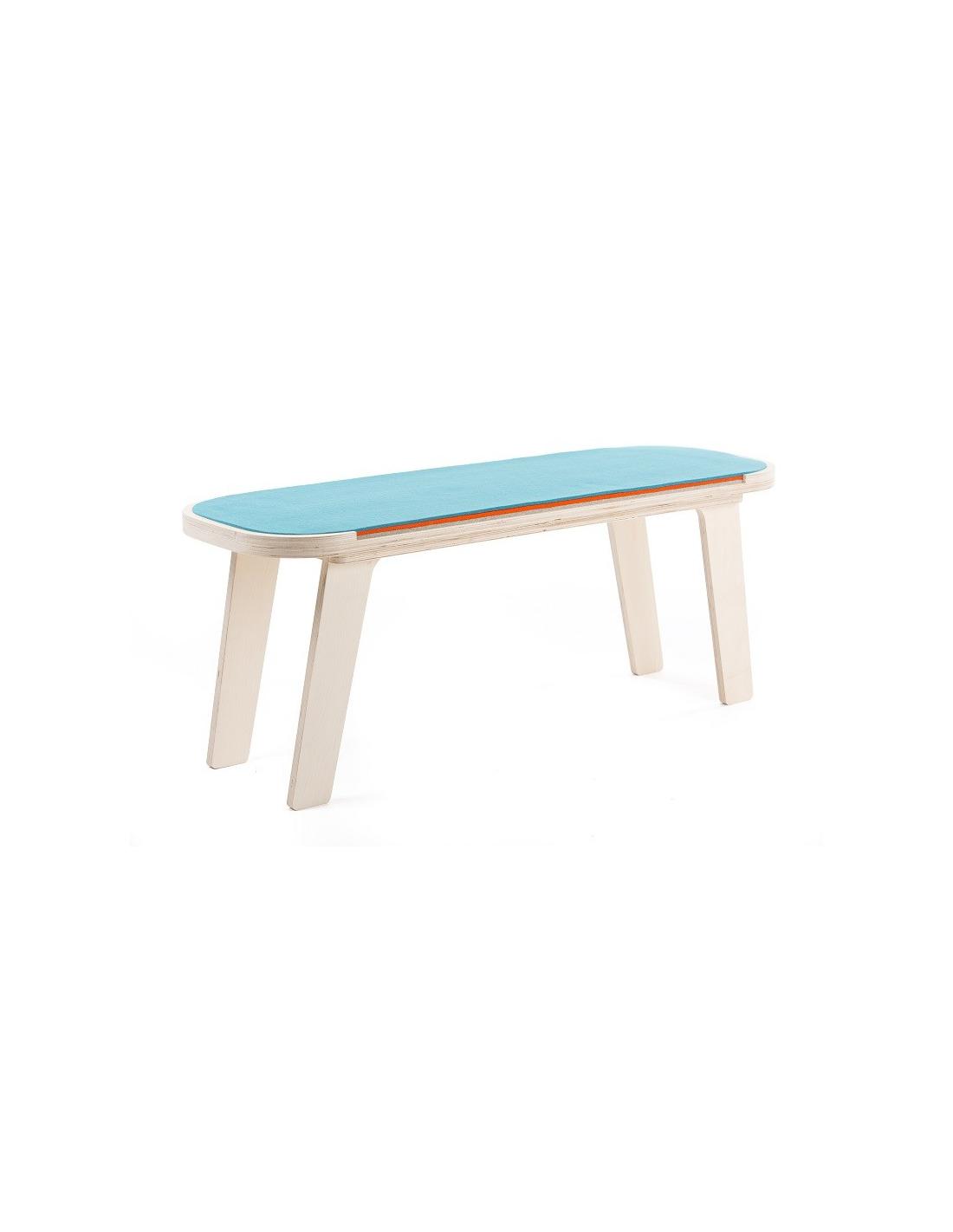 Mobilier > Banc dintérieur contemporain Slim Touch en bois