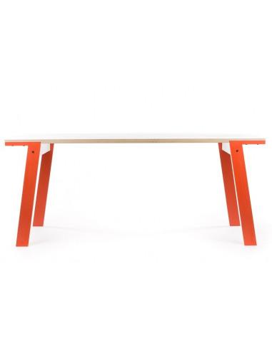Table Flat L (2m) en bois au design contemporain