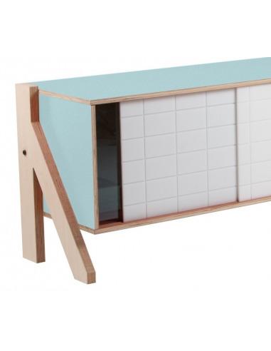 Buffet design Frame 01 S (1m15) au style contemporain et moderne