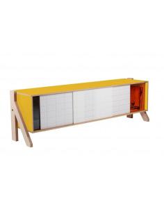 Buffet design Frame 01 M (1m65) au style contemporain et moderne