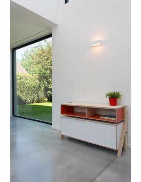 Buffet design Frame 02 M (1m15) au style contemporain et moderne