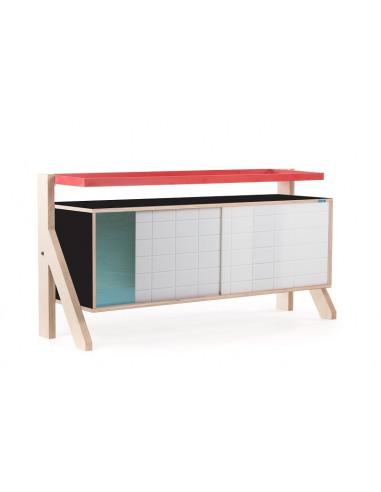 Buffet design Frame 03 S (1m15) au style contemporain et moderne