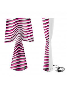Lampe à poser La Dinamica en PVC au design contemporain