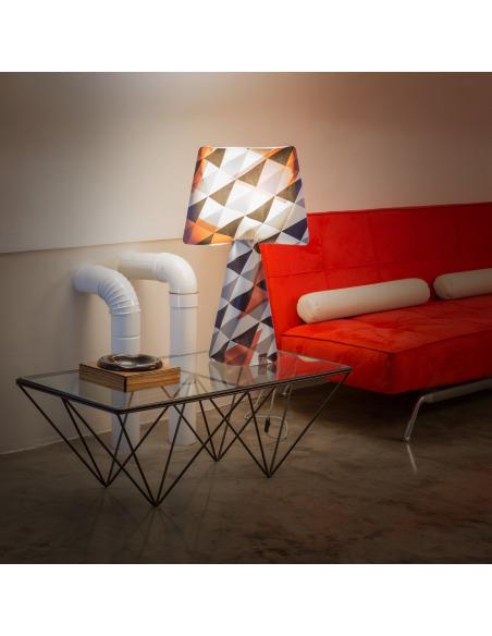 Lampe à poser La rock en PVC au design contemporain